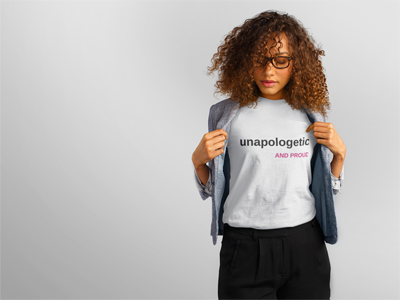 Unapologetic shirt (Women's)