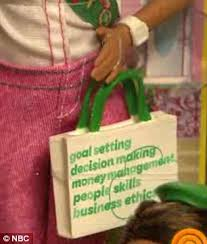 girl scout barbie tote bag