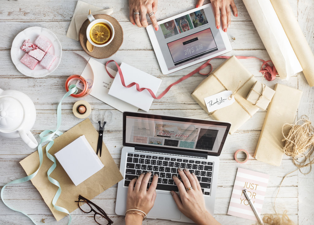 Holiday Marketing with Laptops