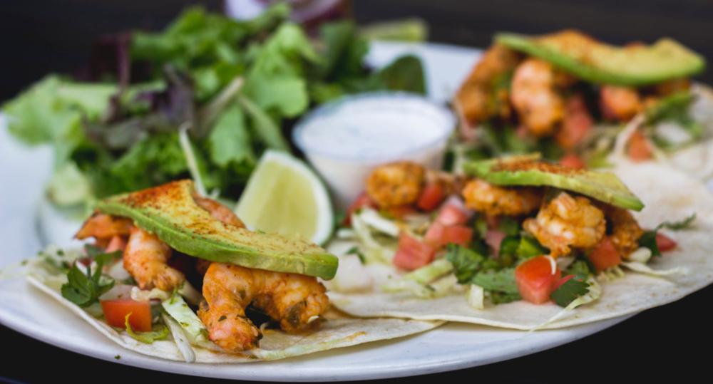 Southwestern Wild Shrimp Tacos