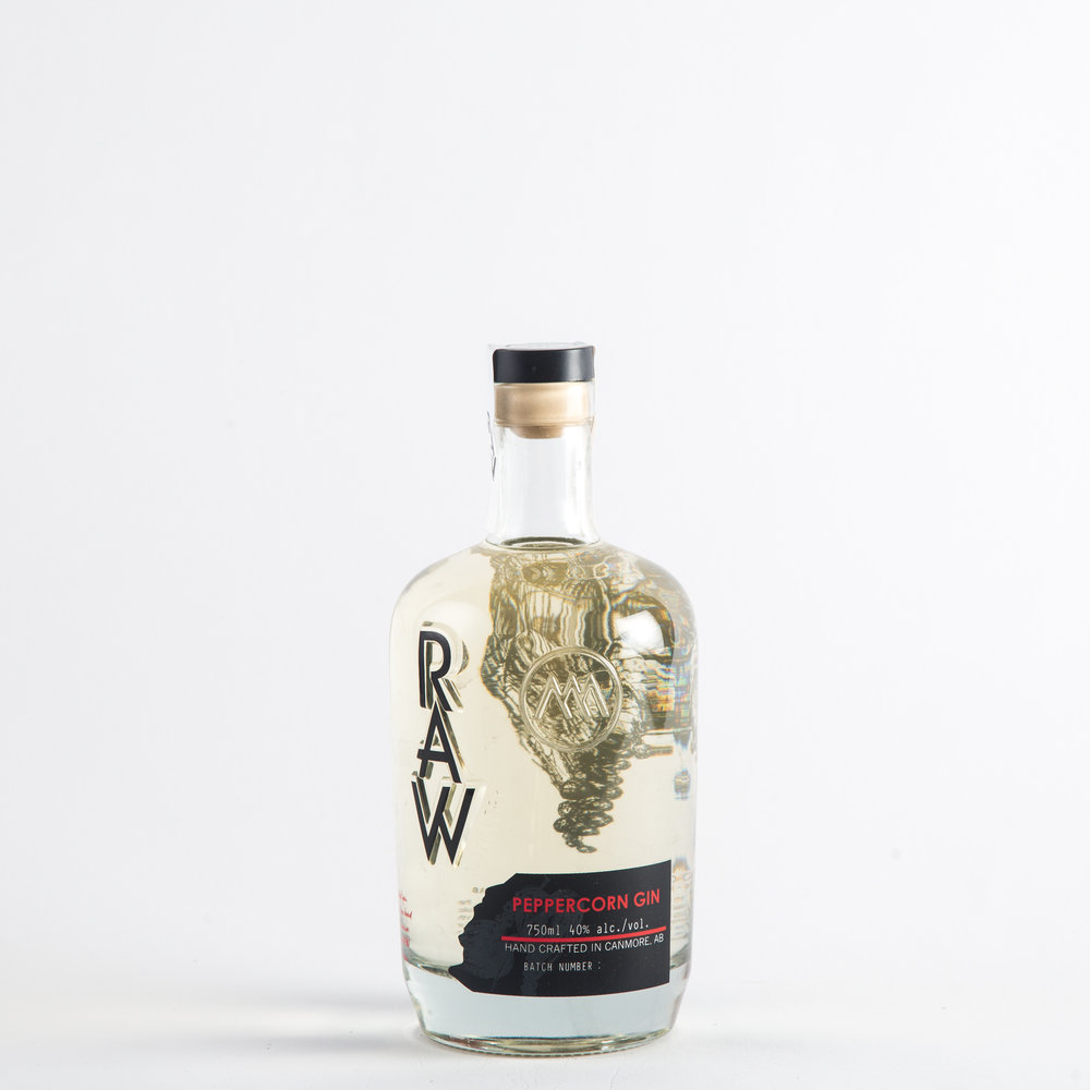 RAW Distillery - Peppercorn Gin
