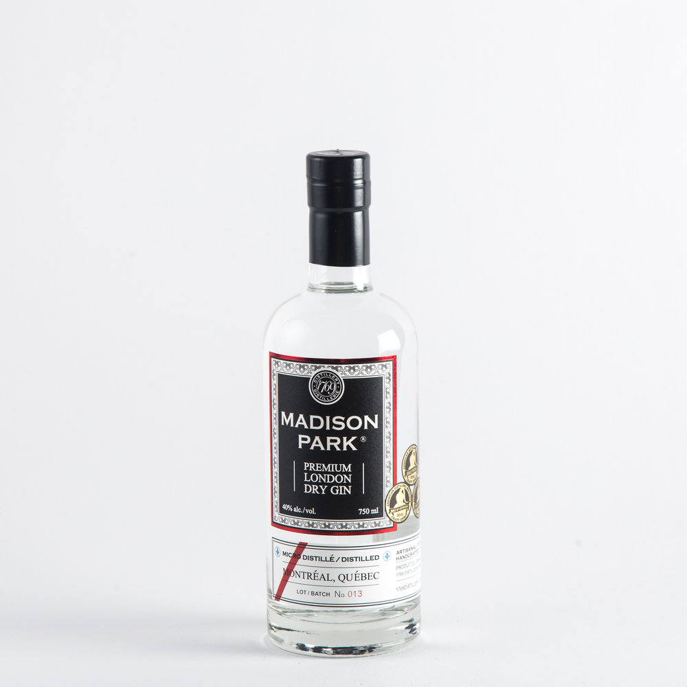 1769 Distillery - Madison Park Premium London Dry Gin