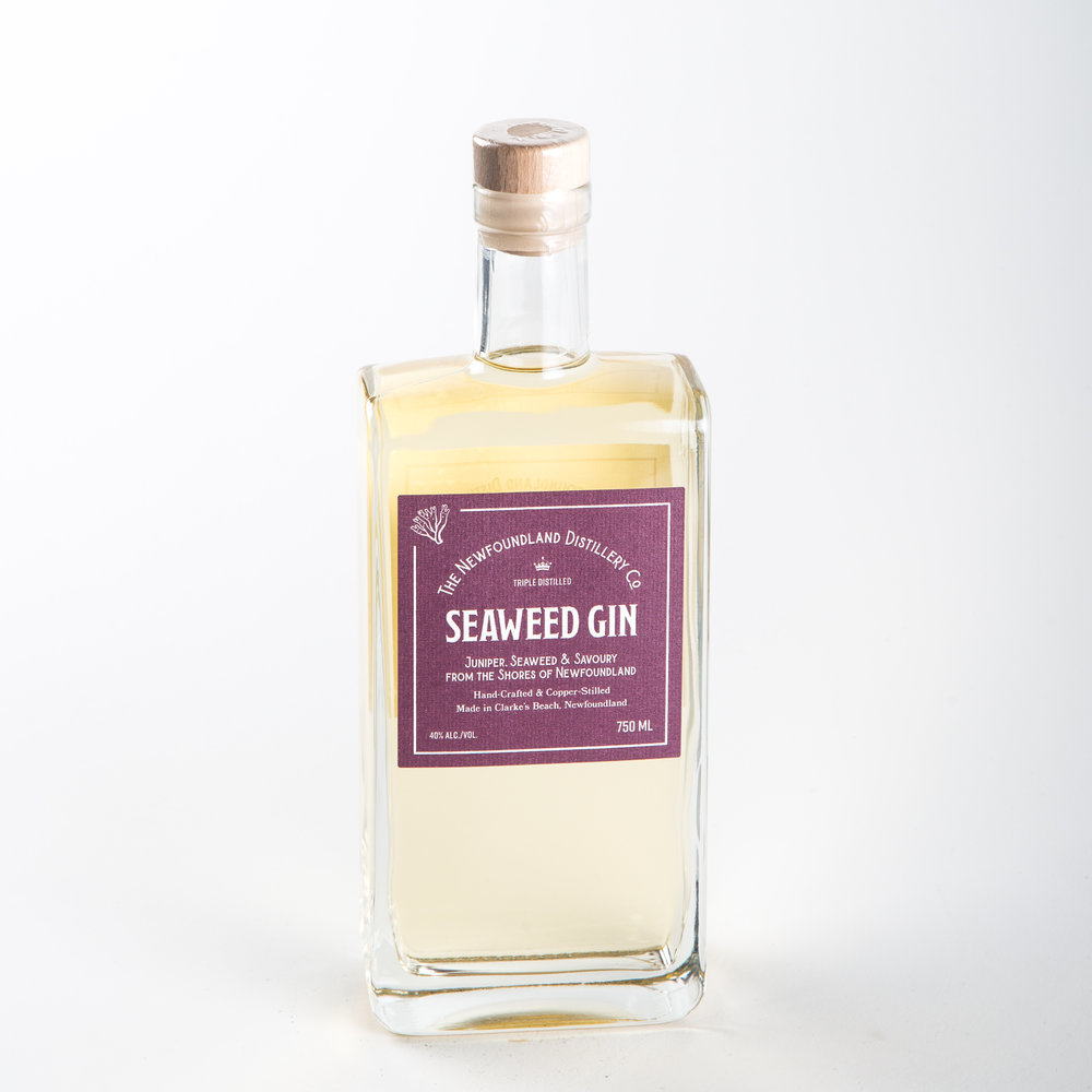 The Newfoundland Distillery Co - Seaweed Gin