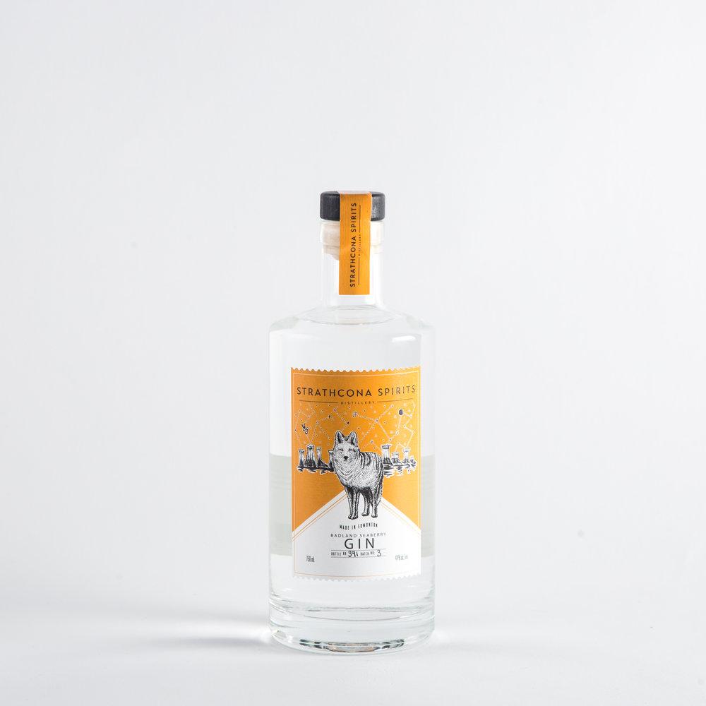 Strathcona Spirits - Baddland Seaberry Gin
