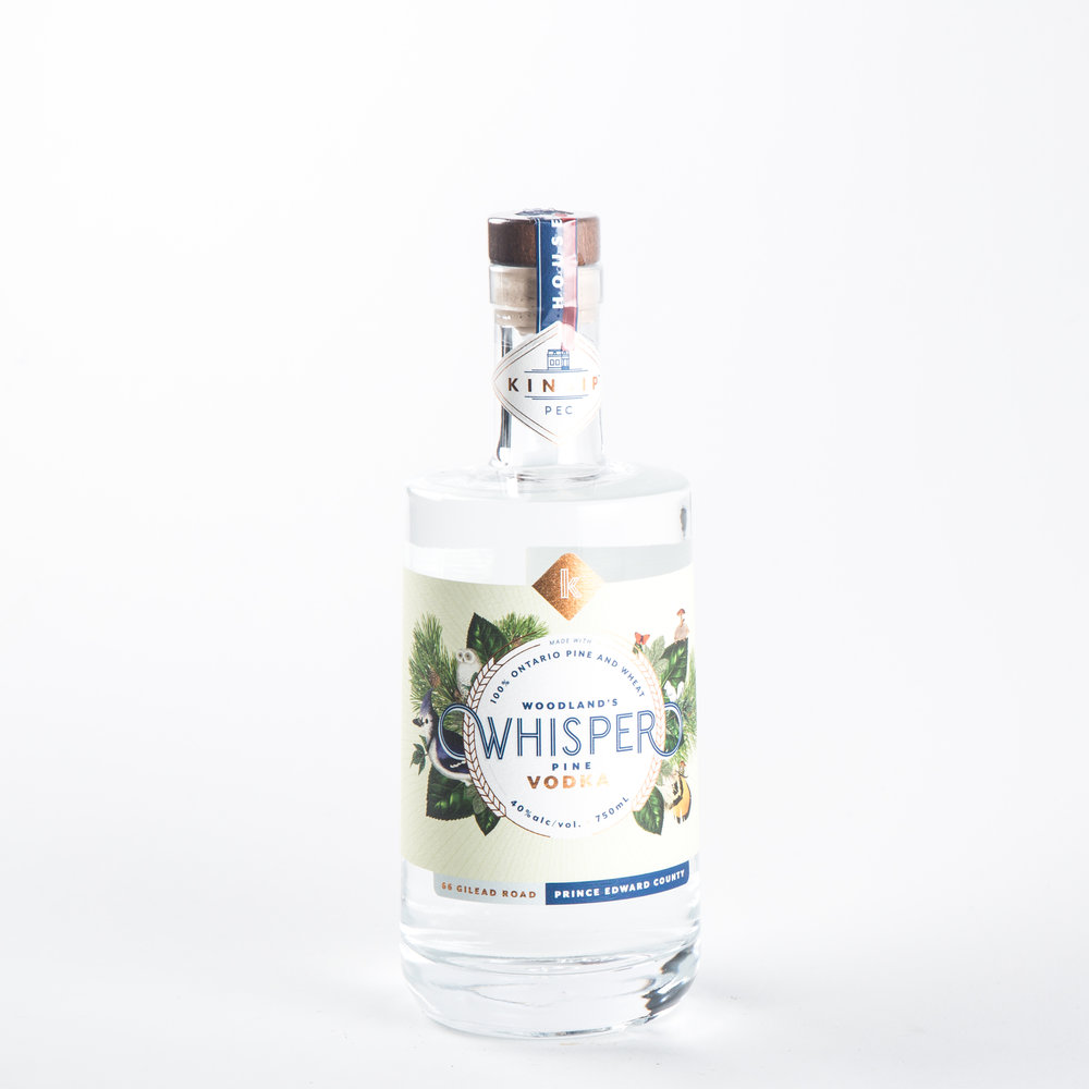 Kinsip Spirits - Woodland's Whiskper Pine Vodka