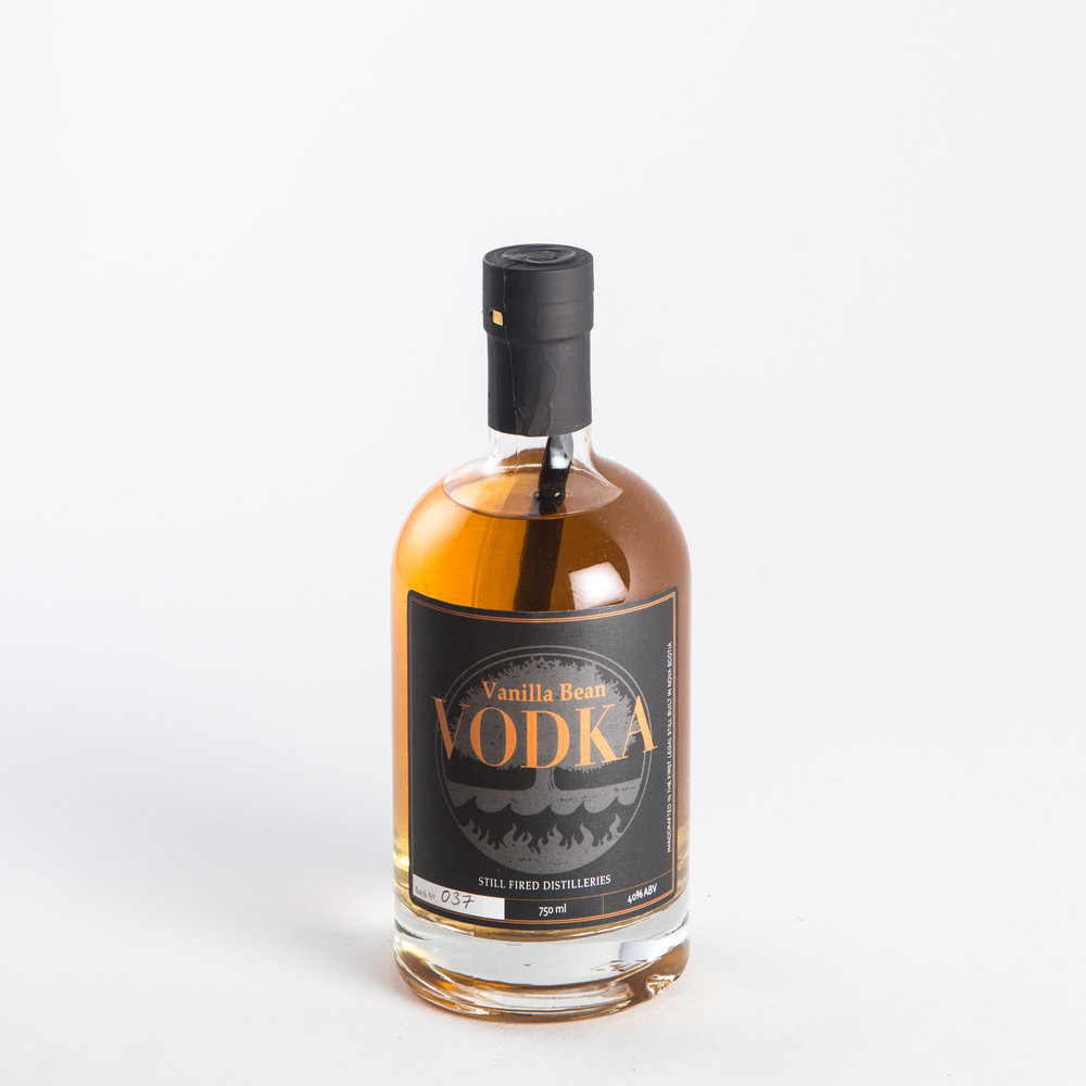 Still Fired Distilleries - Vanilla Bean Vodka