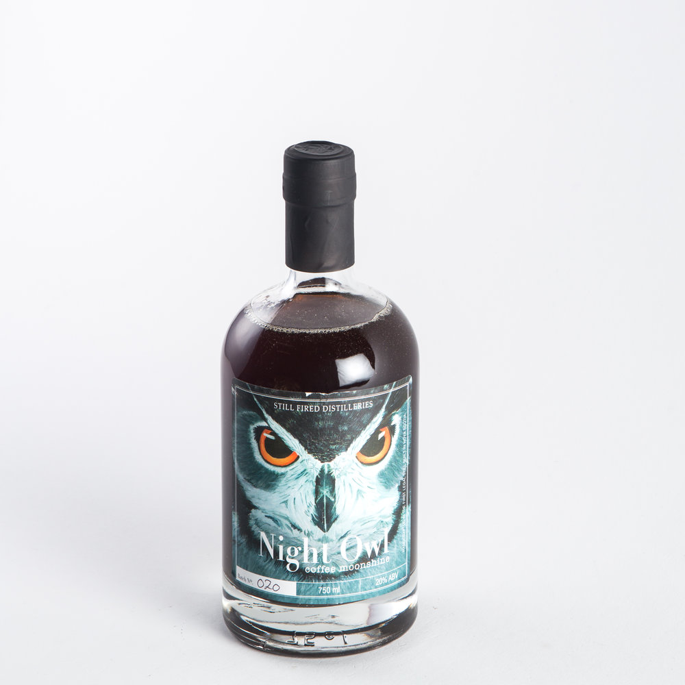 Still Fired Distilleries - Night Owl Coffee Moonshine