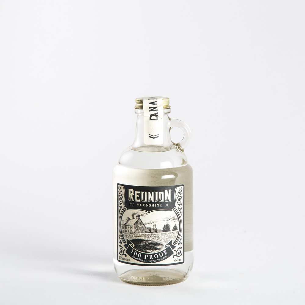 Top Shelf - Reunion 100 Proof Moonshine