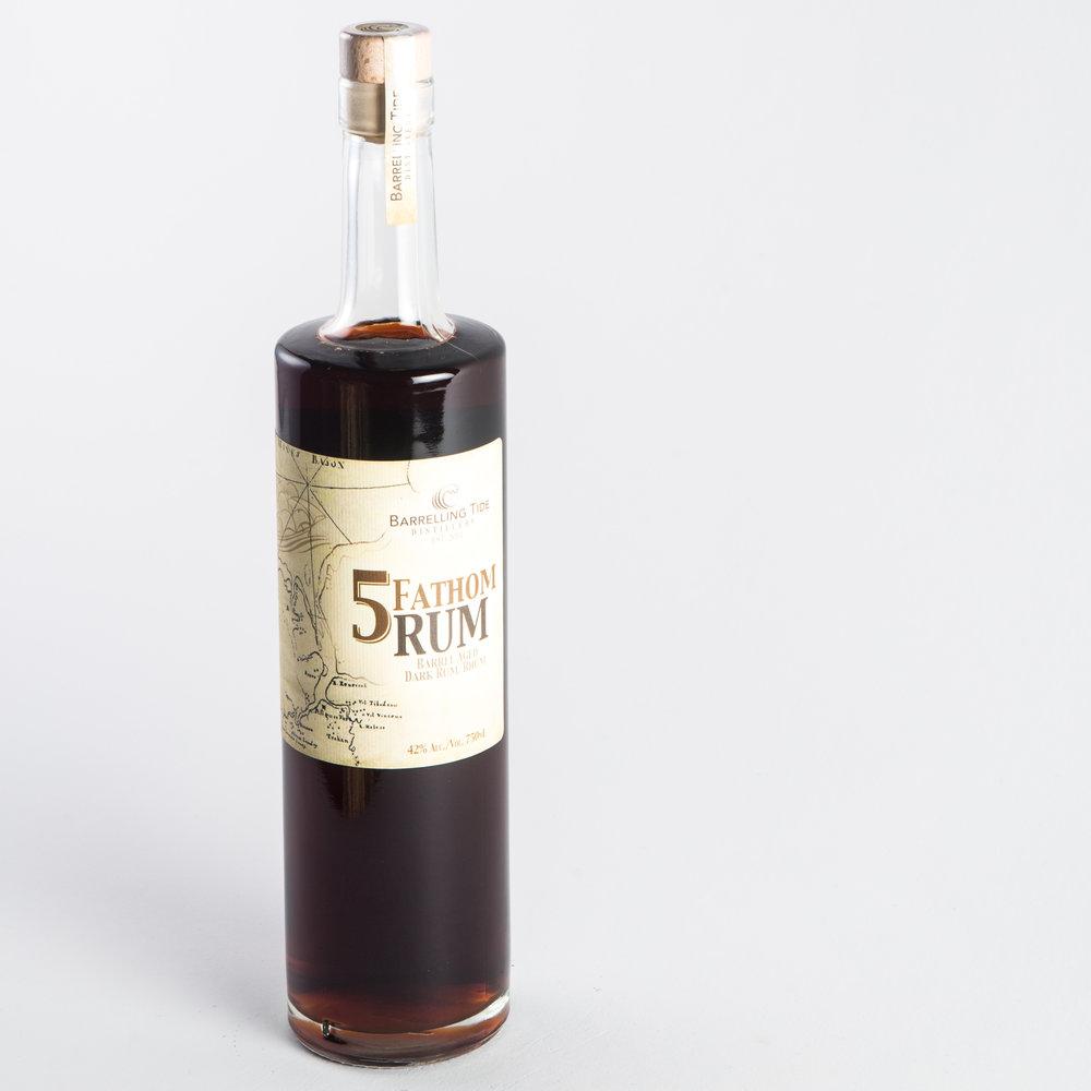 Barrelling Tide - 5 Fathom Rum