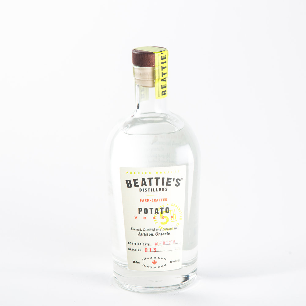 Beattie's Distillers - Beatties Farm Crafted Vodka