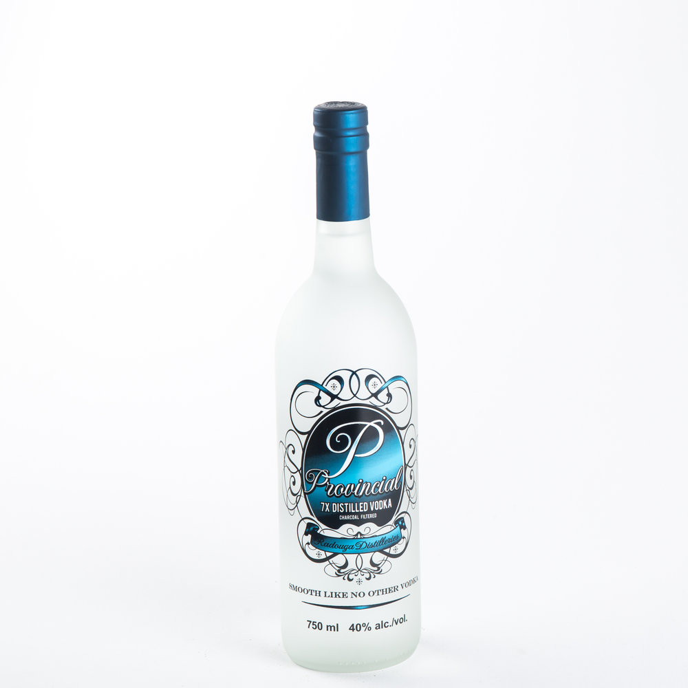 Radouga Distilleries - Provincial Vodka