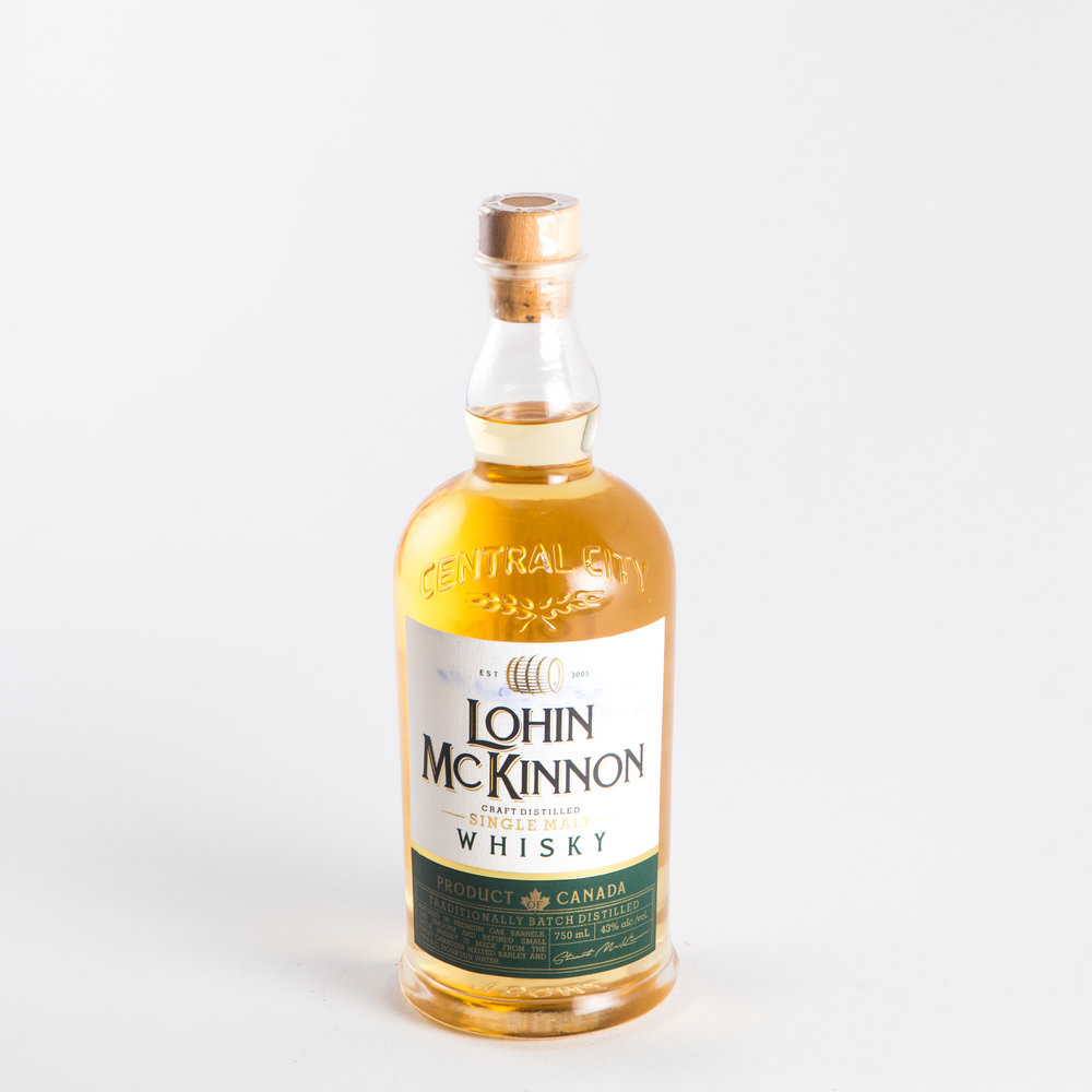 Central City Brewers and Distillers - Lohin McKinnon Whisky