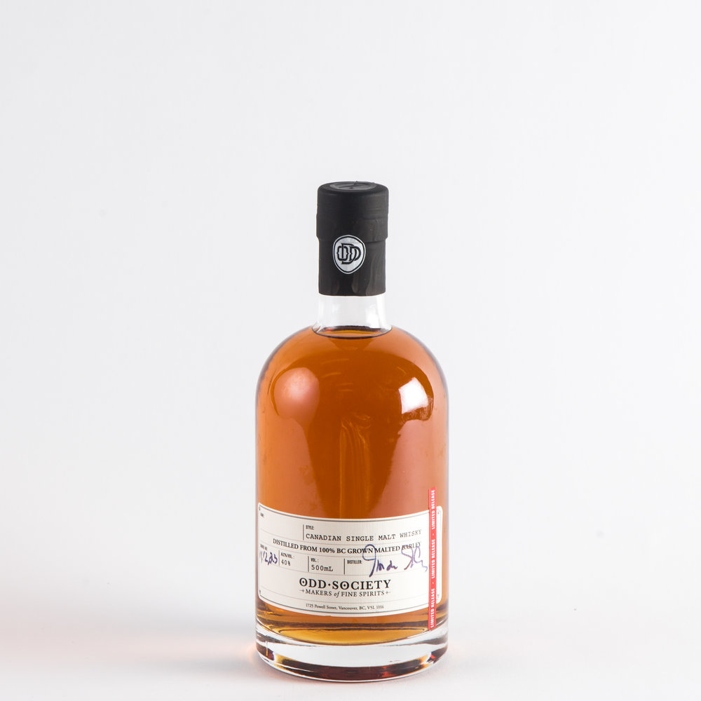 Odd Society Spirits - Canadian Single Malt Whisky