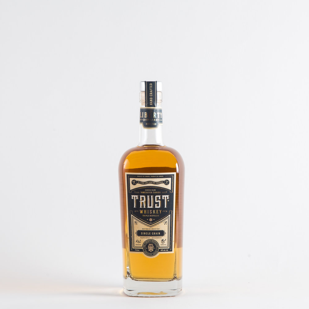 The Liberty Distillery - TRUST Whiskey (Single Grain)