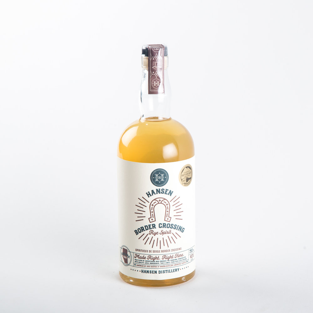 Hansen Distillery - Border Crossing Rye Spirit