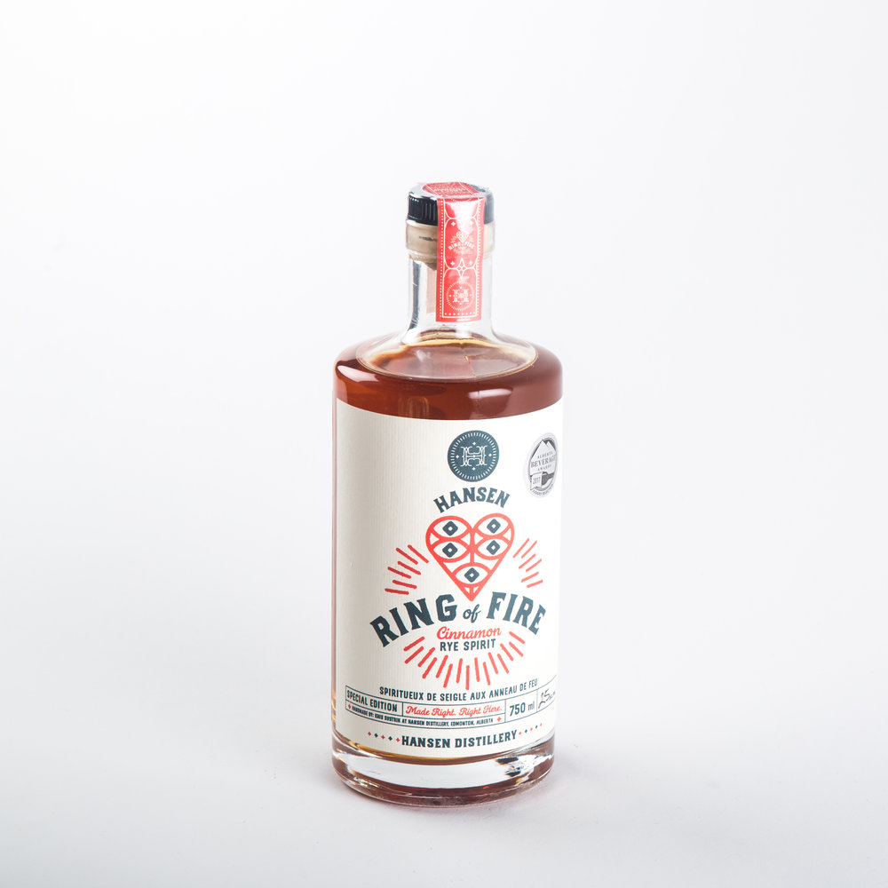 Hansen Distillery - Ring of FIre Cinnamon Rye Spirit