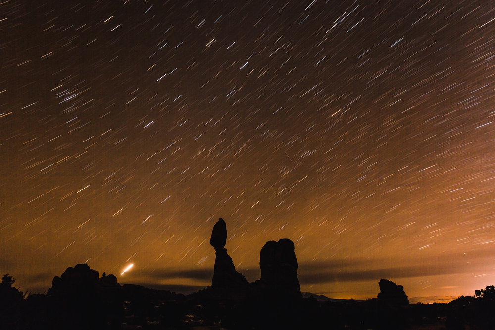 24. Arches National Park Night Photography Astro Long Exposure Star Trails.jpg