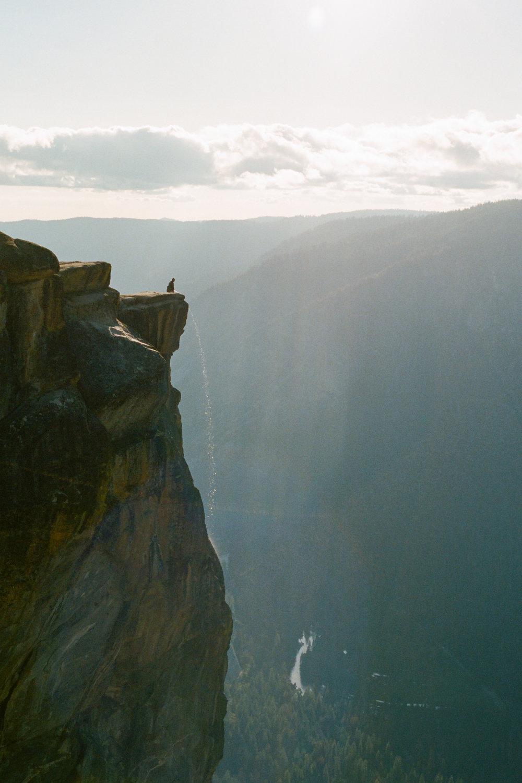 """""""Yosemite Falls"""" (Portra 400)"""
