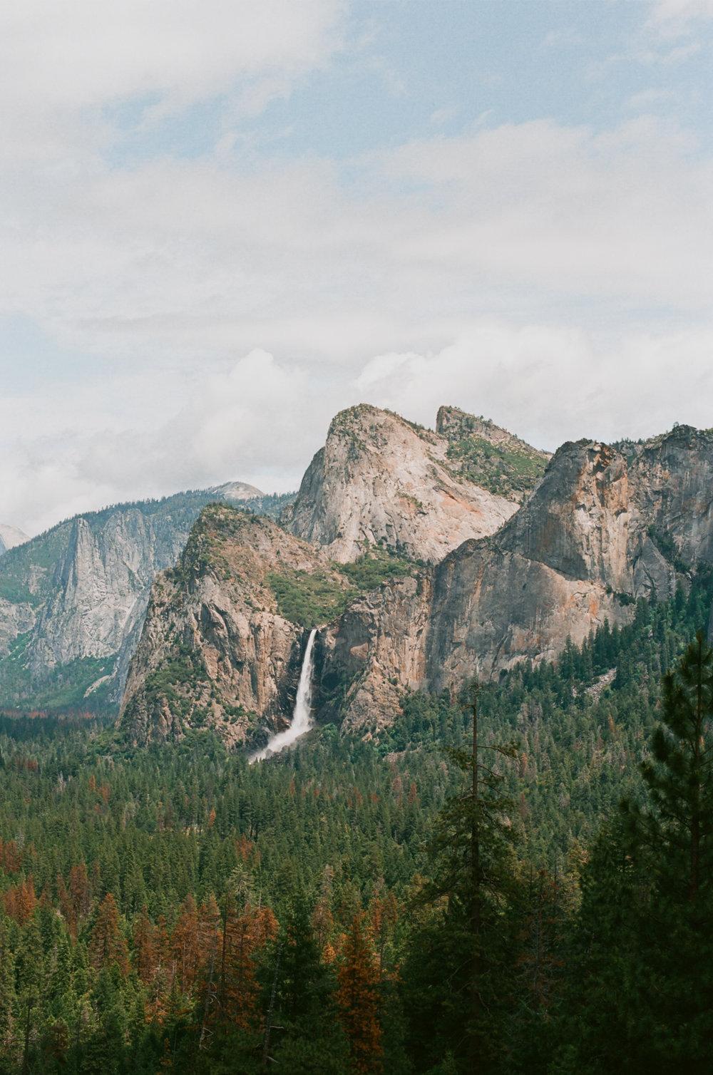 Upper Yosemite Falls (Ektar 100)