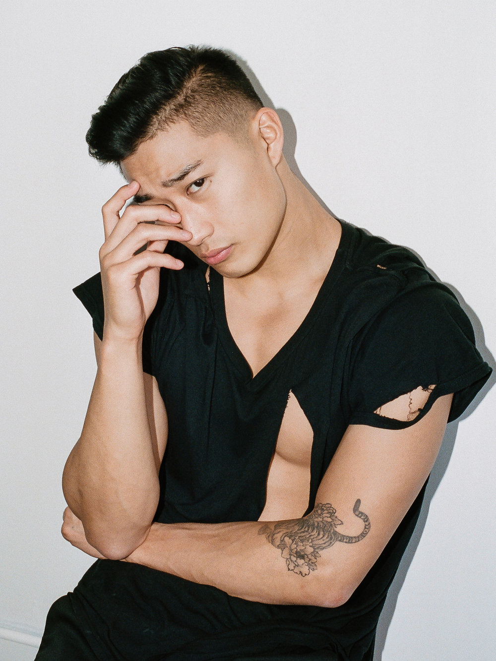 Joey Kim Red Models New York Photo by Emanuel Hahn
