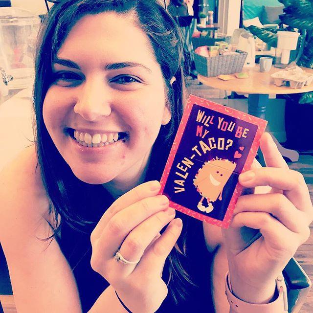 Happy Valen-taco Day! 💕 #valentinesday2019 #warmsmyheart #workbuds #yycentrepreneur #yycsmallbusiness #smallbusinessconsulting