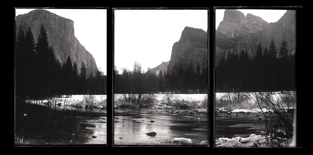 Yosemite Valley Triptych - By: Christopher Erin  www.christophererin.com