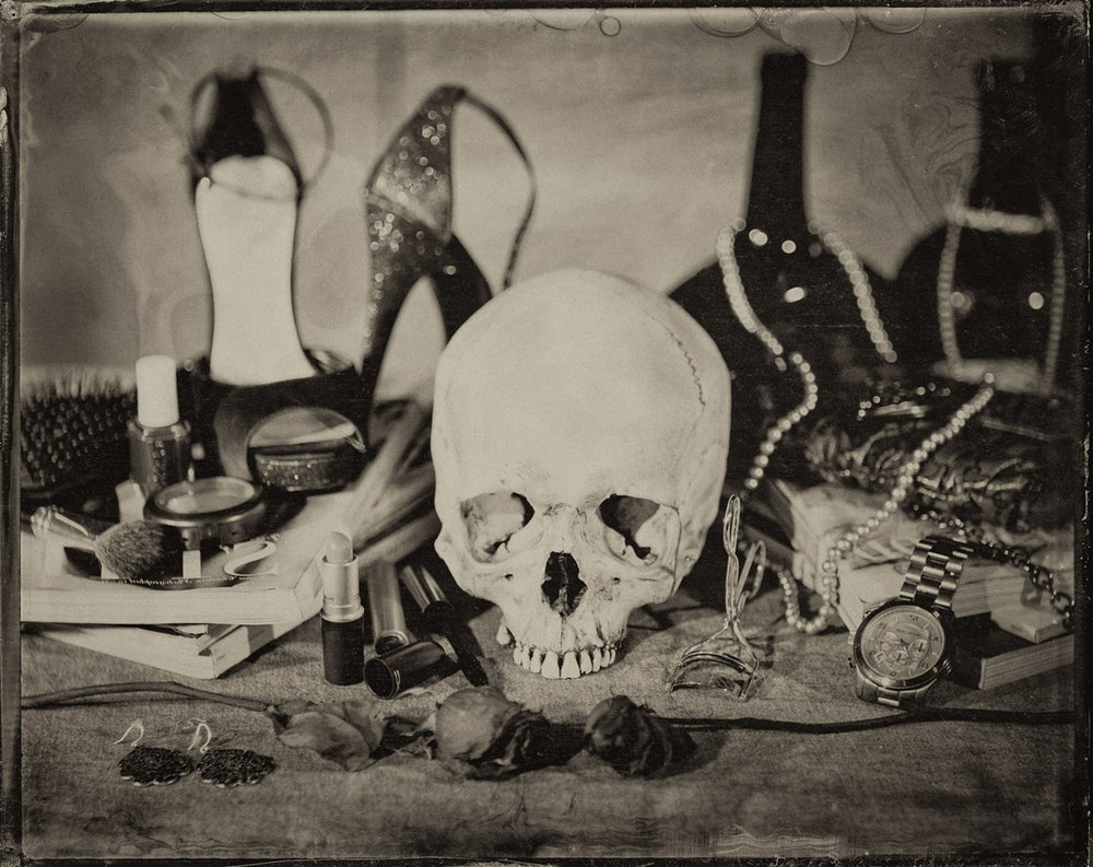 Untitled, Memento Mori Series (Vanitas Fair) - By: Joseph Gamble  www.josephgamble.com