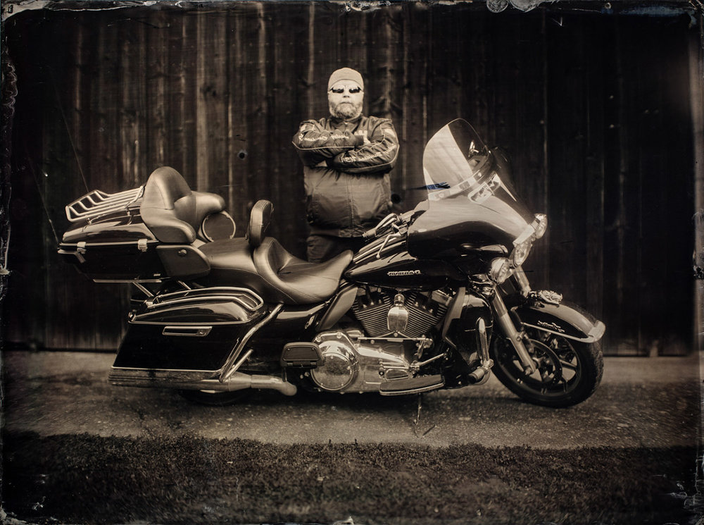 The Harley Davidson Man By: Markus Hofstaetter  www.markus-hofstaetter.at