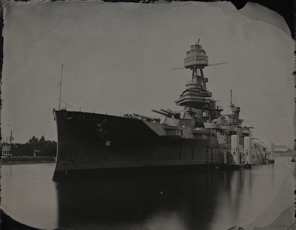 Battleship Texas - LaPorte, TX By: Matthew Magruder  www.matthewmagruder.com