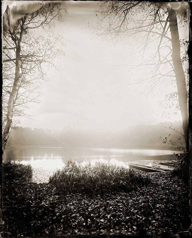 Title : A quiet Lakeside   By: Maximilian  Zeitler    www.maximilianzeitler.com