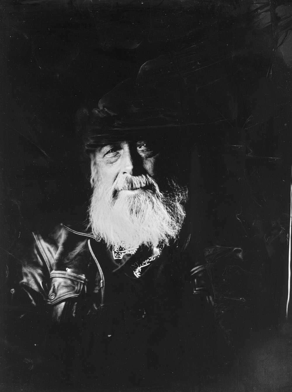 Title : Man with the hat  By:  Raimo Dahl  http://wetplater.com/