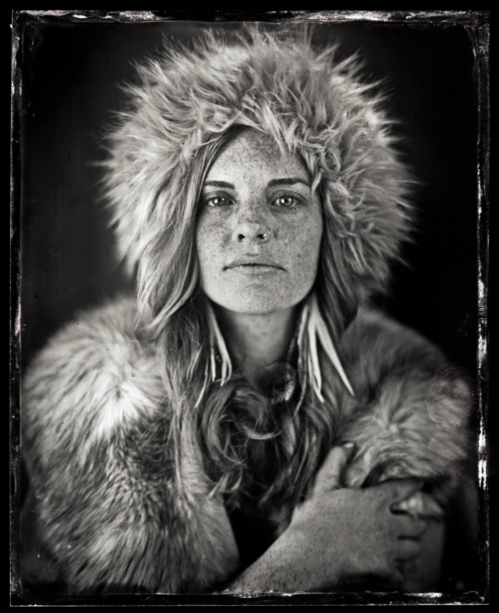 Title : Kenzie. Ice Queen.  By:  Jason Chinchen  https://www.instagram.com/analogue_tintypes/