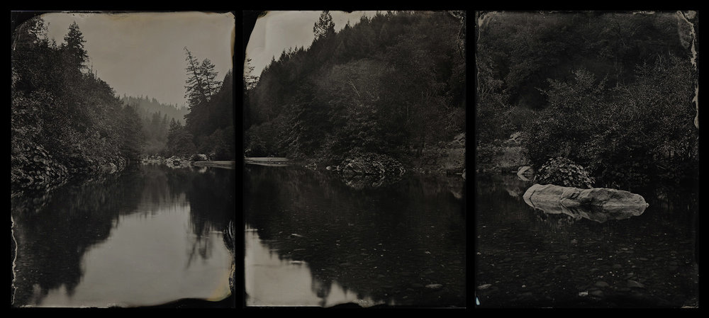 Mad River Triptych - By: Ivan Sohrakoff