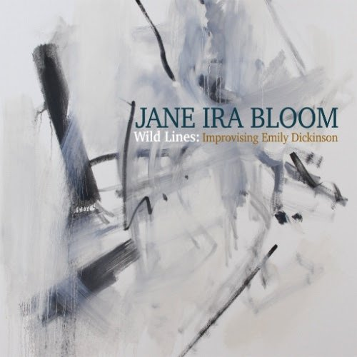 "Jane Ira Bloom inspired by Emily Dickinson By Jeff Simon, The Buffalo News Jane Ira Bloom, ""Wild Lines: Improvising Emily Dickinson"" (Outline, two discs) What an astonishing figure Jane Ira Bloom continues to be. Even if her tone on soprano saxophone weren't uniquely beautiful and her technique preternaturally pliable, there would be her longtime connection with some of the greatest players in current jazz to distinguish her – pianist Fred Hersch on so many records (Dawn Clement plays terrific piano on this quartet disc), along with bassist Mark Helias and drummer Bobby Previte. On top of all that, there is the extraordinary creativity and idiosyncrasy that distinguishes so many of her records. What other jazz musician was virtually adopted by NASA for her love of astronauts and space travel? Who else is inspired by abstract painting on other discs and neuroscience still others? Her last disc ""Early Americans"" might have prepared us for the glory of this one but it really didn't. It's a jazz tribute to Emily Dickinson based on Bloom's discovery that Dickinson was not only an amateur pianist but was sometimes given to improvisation. Says Bloom ""I didn't always understand her but I always felt Emily's use of words mirrored the way a jazz musician uses notes."" Bloom's ""Wild Lines"" based on Dickinson's poetry was premiered at Dickinson's home in Amherst, Ma. and was subsequently performed at the Kennedy Center. There is no overpraising the exquisite intimacy of Bloom's rapport with her other musicians Clement, Helias and, especially, Bobby Previte who is virtually her heartbeat on their discs together. That's always true of her records but it's especially remarkable here. The beauty of Dickinson as a jazz inspiration is that nothing remotely literal can come from it. Here are some of the lines that inspired Bloom: ""Take all away from me, but leave me ecstasy/And I am richer then;"" ""One note from/One bird/Is better than/A million words."" ""We introduce ourselves/to planets and flowers/But with ourselves/Have etiquettes/Embarrassments/ and Awes."" The beauty here is that this is NOT a true meeting of minds but rather the capture of a fire from another century that blazed so brilliantly that it took a gorgeously different form in another time. Actor Deborah Rush recites Dickinson too for those who need to hear how the fire began before it transformed itself. She ends it all with a solo reading of Rodgers and Hart's ""It's Easy to Remember."" One of the year's great jazz records by one of our greatest jazz poets and the brilliant friends who understand her completely. 4 stars (out of four)"