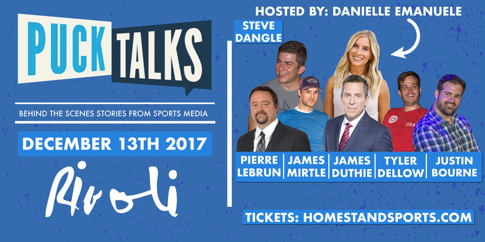 Buy Your Tickets Here:  http://www.homestandsports.com/upcoming-shows/2017/12/13/puck-talks-toronto