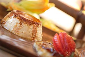 Dessert Menu - Flan