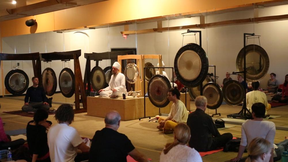 Bikram Yoga Gong