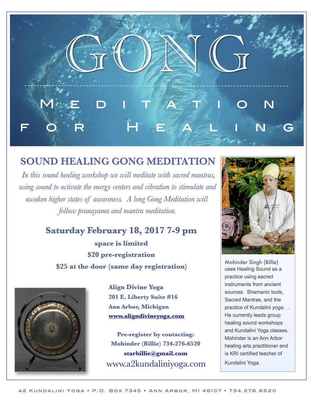 gong meditation