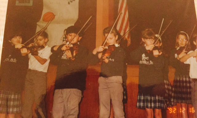 #tbt Violin class. 4th grade