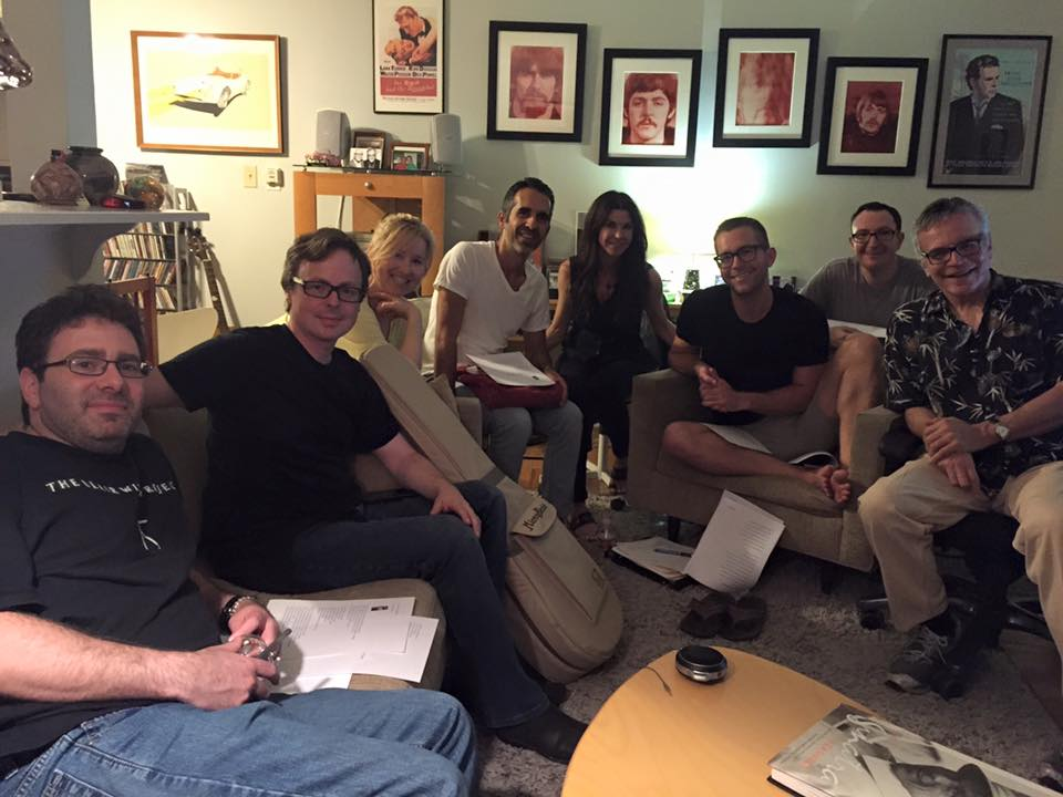 Spending Monday night with my people (and mentor Mark Winkler) ‪#‎songwriting‬ ‪#‎songwritingcircle‬