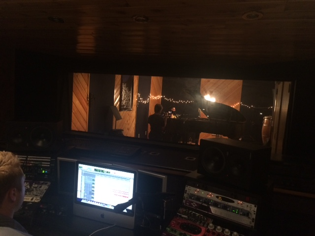 Recording at the Songwriting School of Los Angeles….new music coming out soon, I promise!