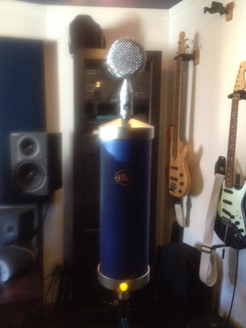 Recording vocals today…get ready for a deluge of music in 2015!