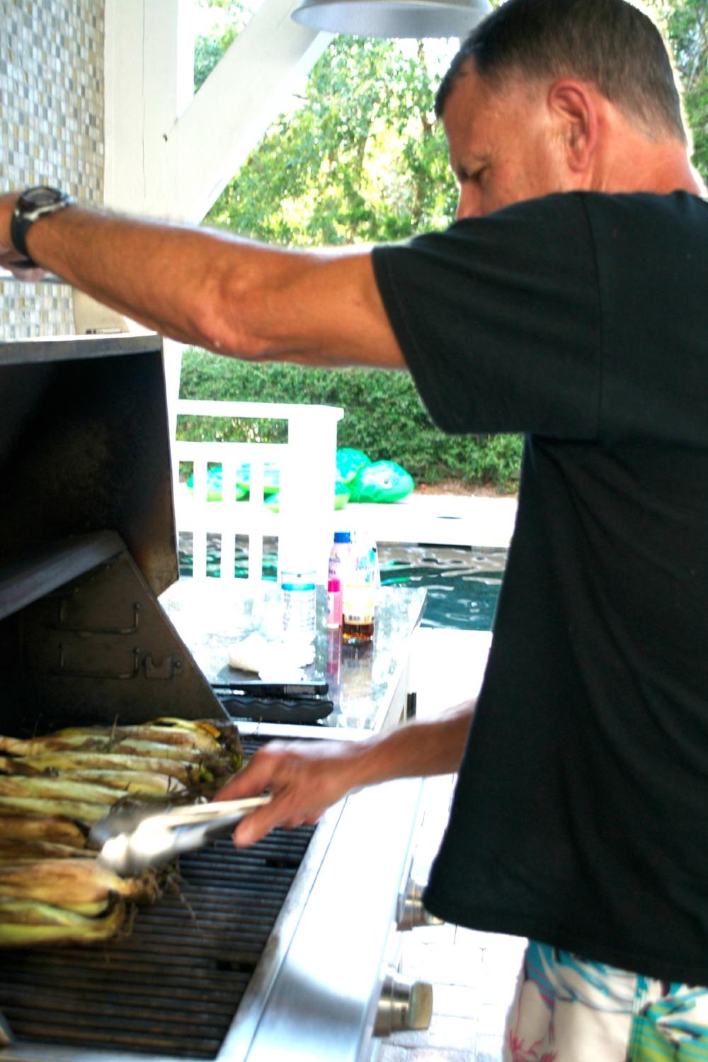 steve-grilling-seaside