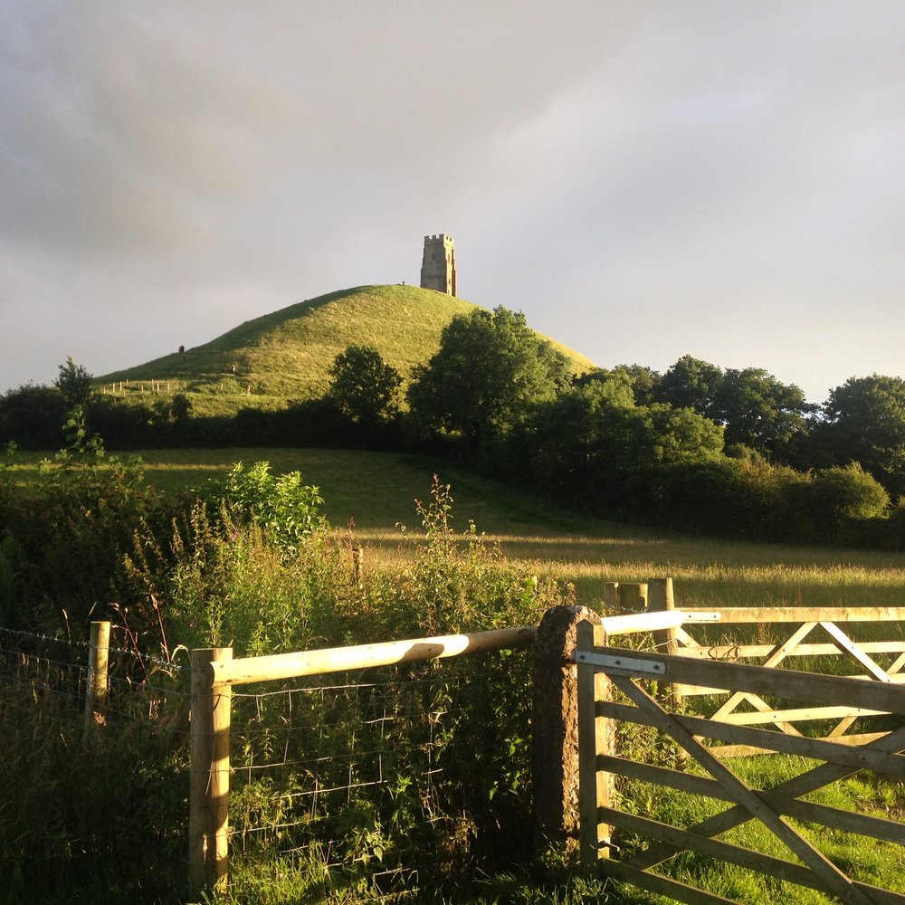 The legendary Avalon of the Arthurian legends, Glastonbury Tor served as a monastery site for hundreds of years through the middle ages, and is now a modern-day site of Goddess worship.