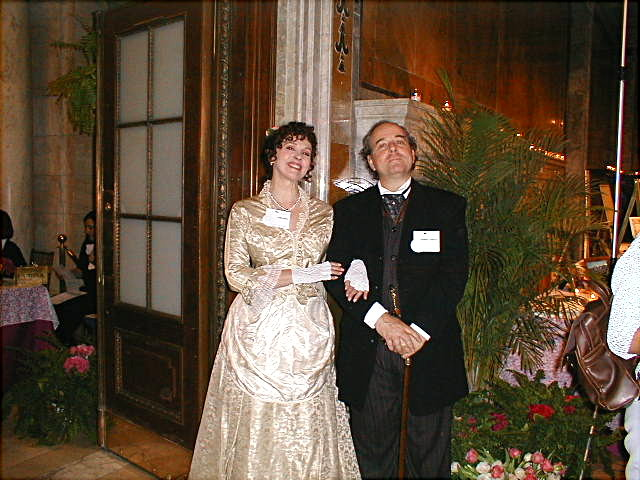 3 - JPMorgan & wife.JPG