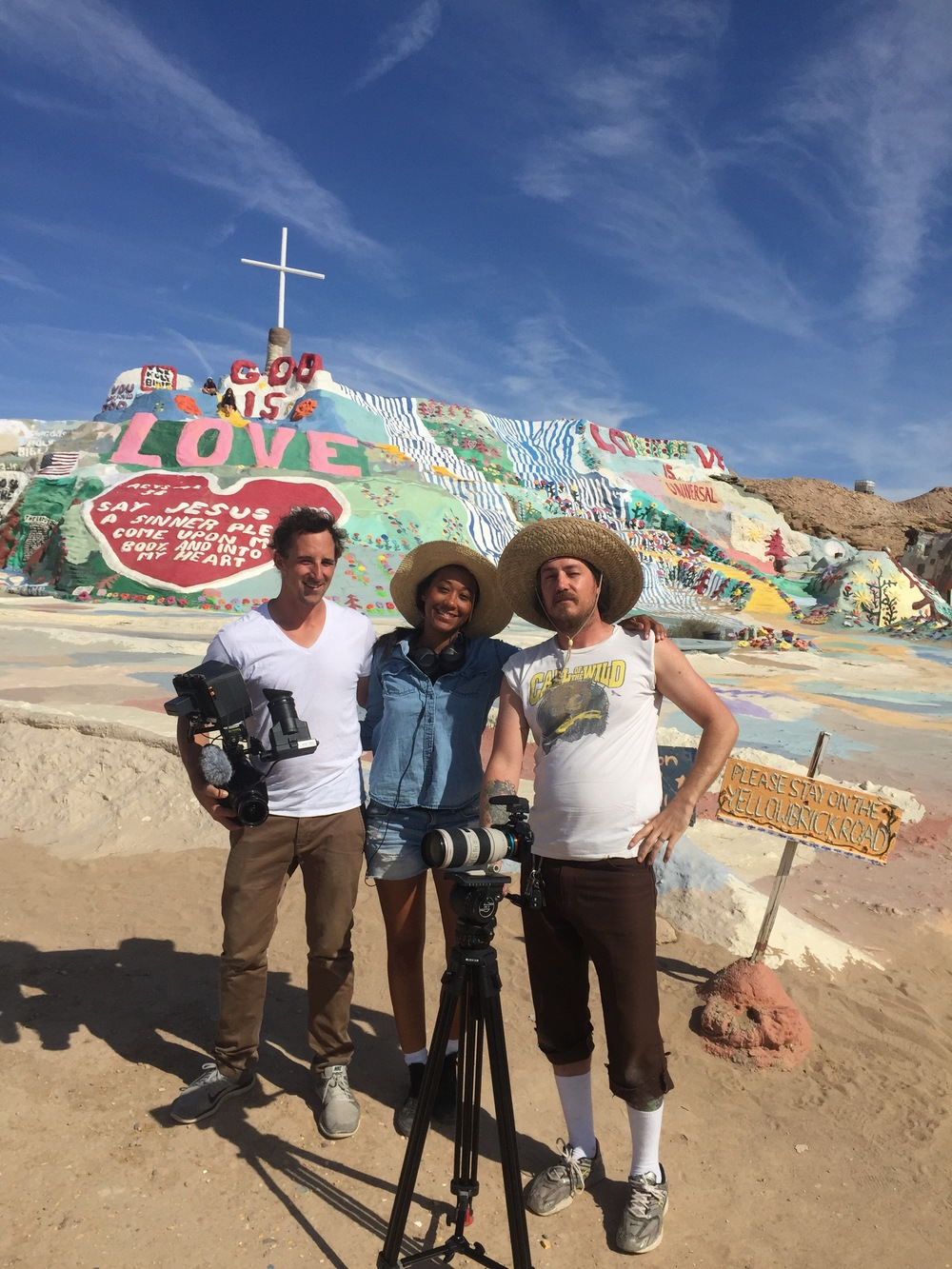 The Silver and Light Project: Salvation Mountain