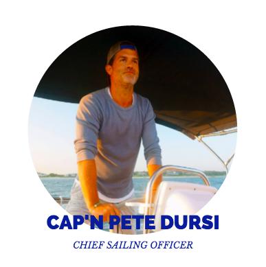 Captain Pete Dursi, Chief Sailing Officer