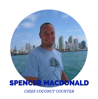Spencer MacDonald, Chief Coconut Counter
