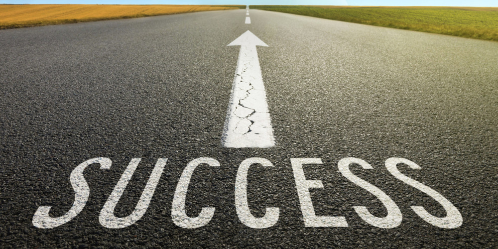 The road to success (  Image Source  )