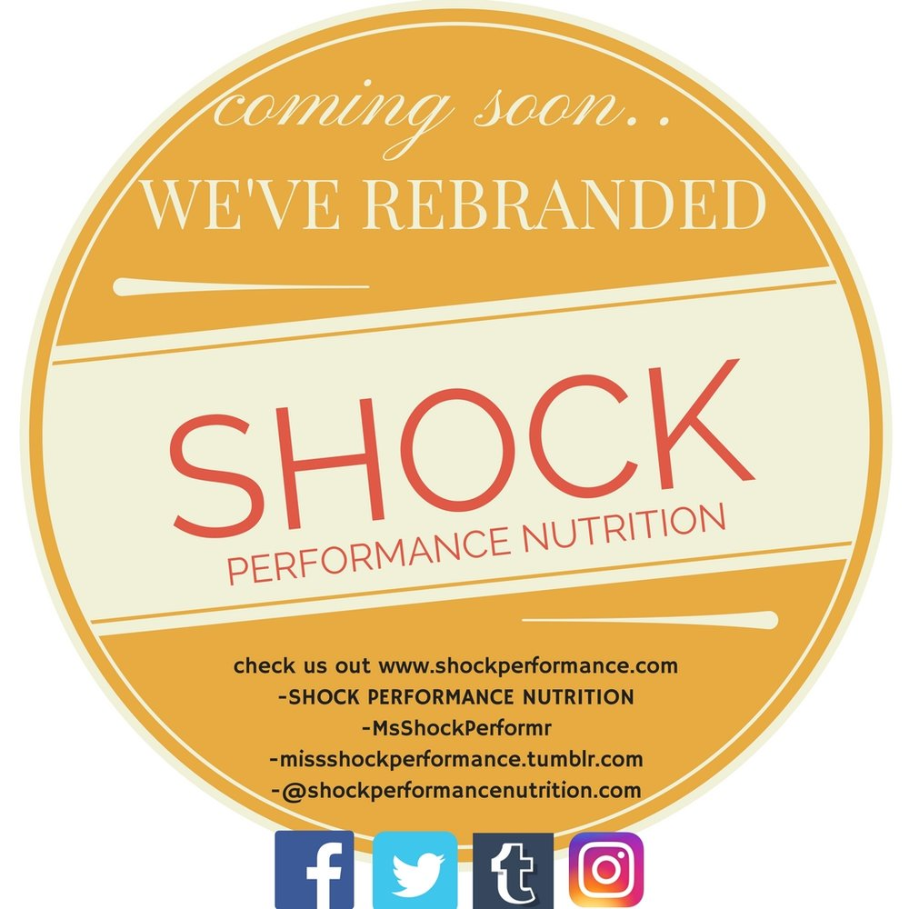 Shock Performance Nutrition is ready for social media to explode! Check us out!